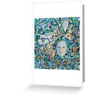 Amalia in Amesterdam and Fado Music - by Ana Canas Greeting Card