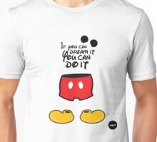 The mouse black version Unisex T-Shirt