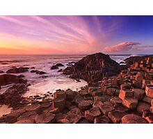 Giant's Causeway , Co Antrim , Northern Ireland Photographic Print