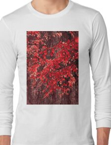 Red branches Long Sleeve T-Shirt