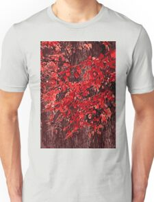 Red branches Unisex T-Shirt