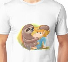 lolo with sloth Unisex T-Shirt