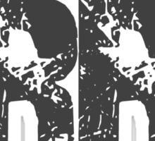 Raging Rat Double R logo Sticker