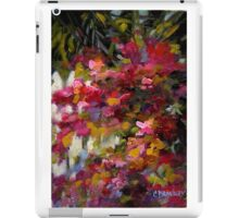 Palm Trees and Bougainvillaea by Chris Brandley iPad Case/Skin