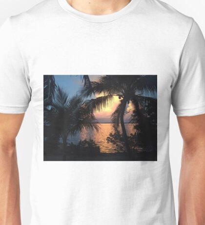 Sunset in the Florida Keys  Unisex T-Shirt
