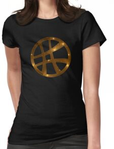 Dr. Strange, magical symbol, sorcery, sign, comic Womens Fitted T-Shirt