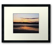 Jersey Shores Framed Print