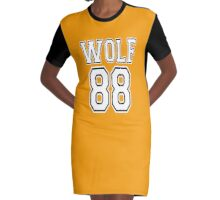 ♥♫I Love KPop-Awesome EXO WOLF 88♪♥ Graphic T-Shirt Dress