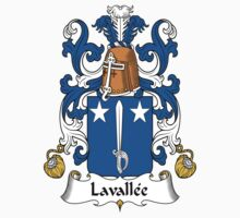 Lavallee Coat of Arms (French) by coatsofarms