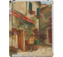 Panini Cafe' by Chris Brandley iPad Case/Skin