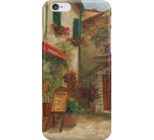 Panini Cafe' by Chris Brandley iPhone Case/Skin