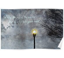 Happy Holidays Greeting Card and Print Poster
