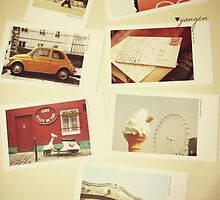 Vintage Backround ~ Polaroids  by Kyko619