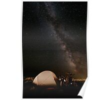 Camping lacté Poster