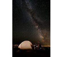 Camping lacté Photographic Print