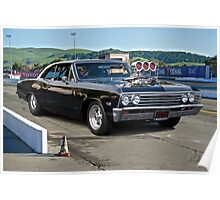 1967 Chevelle Pro Street 'Race Day' Poster
