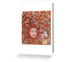 Amalia in Amesterdam and Fado Music II - by Ana Canas Greeting Card