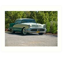 1956 Oldsmobile Rocket 88 Art Print