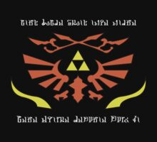 Crest Of Hyrule's Warriors by digialchem