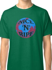 NICE 'N' RIPE BLUE/RED Classic T-Shirt
