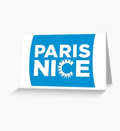 Paris Nice Greeting Card