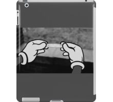 mickey roule  iPad Case/Skin