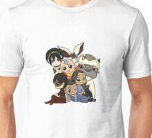 Chibi Avatar Gaang  Unisex T-Shirt