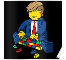 Build A Wall Trump 2016 Poster