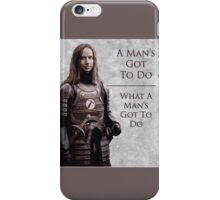 Jaqen Hammer iPhone Case/Skin