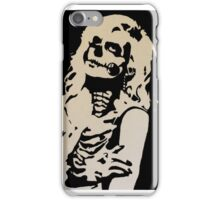 Skull Girl iPhone Case/Skin