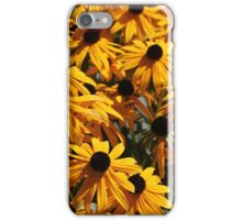 Black Eyed Susans iPhone Case/Skin