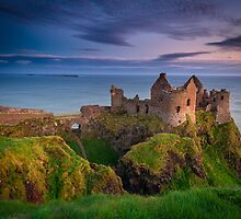 Dunluce Castle  Co Antrim  Northern Ireland by Zdrojewski