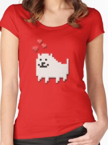 Doggy :^) Women's Fitted Scoop T-Shirt