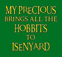 My Precious Brings All the Hobbits to Isenyard by Nightingale64