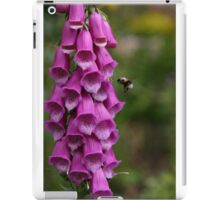Foxglove and Bumble Bee iPad Case/Skin