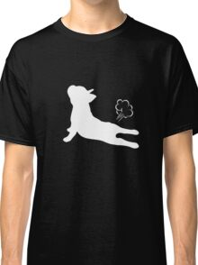 French Bulldog Yoga Exhale T Shirt  Classic T-Shirt
