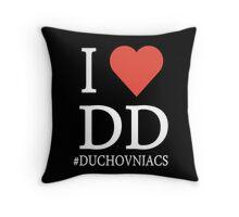 I love DD - Duchovniacs  Throw Pillow