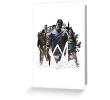 Watch dogs 2  Greeting Card