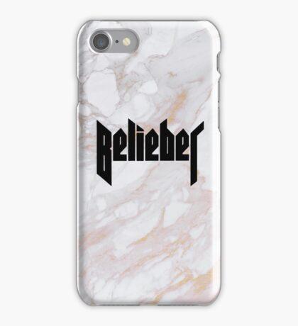 Belieber - Gold Marble iPhone Case/Skin