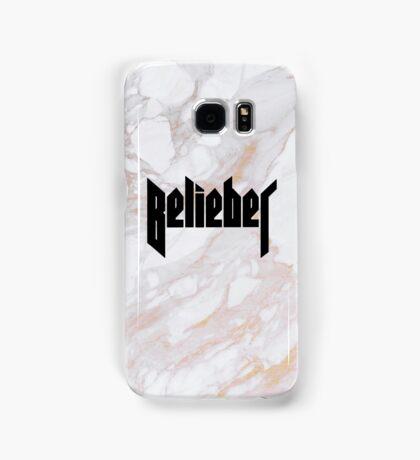 Belieber - Gold Marble Samsung Galaxy Case/Skin