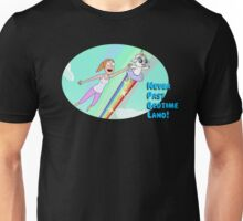 Rick and Morty, Never past bed time land Unisex T-Shirt