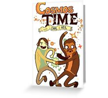 COSMOS TIME Greeting Card