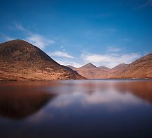 Silent Valley Reservoir  Mourne Mountains  Co Down  Northern Ireland by Zdrojewski