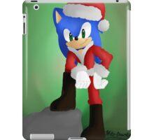 Santa Sonic iPad Case/Skin