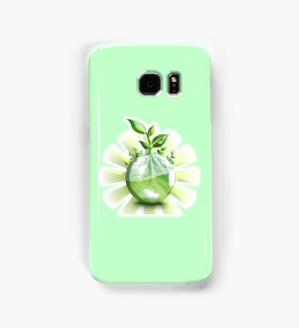 Ecology, Earth science, Environment, Eco, Ecosystems, Green Samsung Galaxy Case/Skin