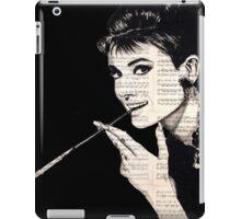 Audrey Hepburn an05 iPad Case/Skin