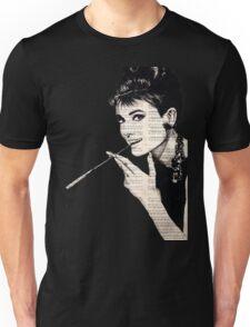 Audrey Hepburn an05 Unisex T-Shirt