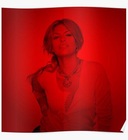 Eva Mandas - Celebrity (Square) Poster