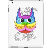 Colourful Cat iPad Case/Skin
