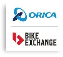 ORICA BikeExchange Canvas Print